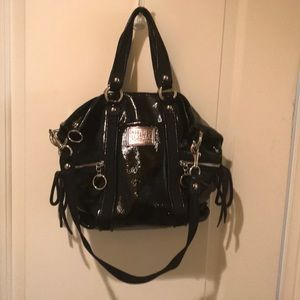 Coach Poppy patent leather bag.